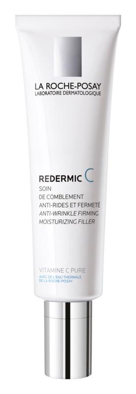 La Roche-Posay Redermic [C] Tages- und Nachtscreme gegen Falten für trockene Haut
